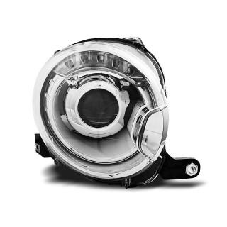 Koplampen FIAT 500  - Chroom