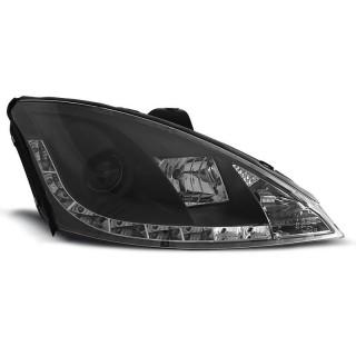 Koplampen met LED verlichting FORD FOCUS MK1  - Zwart