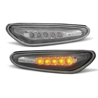 LED Zijknipperlichten Bmw 3-Serie E46 Sedan, Touring - Smoke