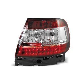 LED Achterlichten AUDI A4 B5  - Rood/Wit