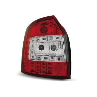 LED Achterlichten AUDI A4 8E/B6  AVANT  - Rood/Wit