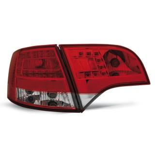 LED Achterlichten AUDI A4 B7  AVANT - Rood/Wit