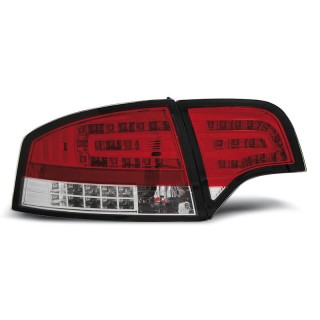 LED Achterlichten AUDI A4 B7  SEDAN - Rood/Wit