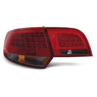LED Achterlichten AUDI A3 8P Sportback - Rood/Smoke