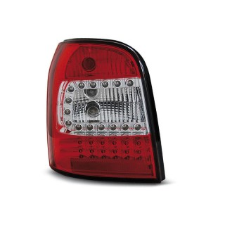 LED Achterlichten AUDI A4 B5 Avant  - Rood/Wit