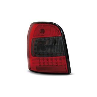 LED Achterlichten AUDI A4 B5 Avant  - Rood/Smoke