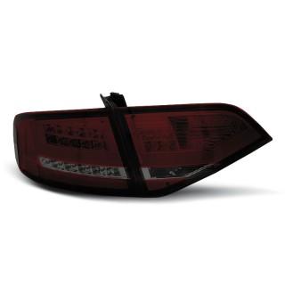 LED Achterlichten AUDI A4 B8  SEDAN - Rood/Smoke