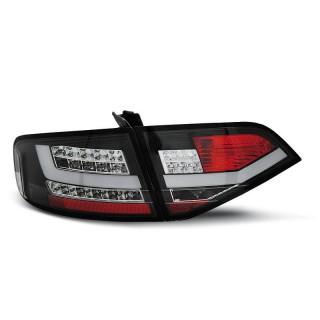 LED Achterlichten AUDI A4 B8  SEDAN - Zwart