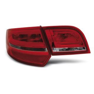 LED Achterlichten AUDI A3 8P Sportback - Rood/Wit