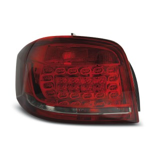 LED Achterlichten AUDI A3 8P  - Rood/Smoke