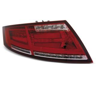 LED Achterlichten AUDI TT 8J  - Rood/Wit