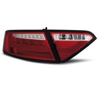 LED Achterlichten AUDI A5  COUPE Rood/Wit