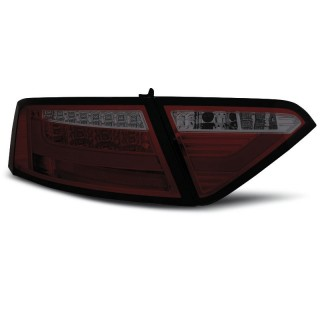 LED Achterlichten AUDI A5  COUPE Rood/Smoke