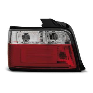 LED Achterlichten Bmw 3-Serie E36  SEDAN - Rood/Wit