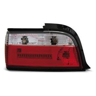 LED Achterlichten Bmw 3-Serie E36  Coupe, Cabrio - Rood/Wit