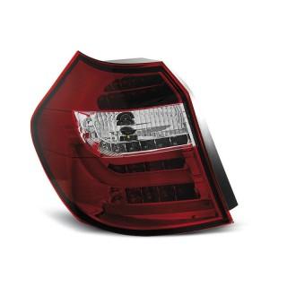 LED Achterlichten Bmw 1-Serie E87, E81 - Rood/Wit