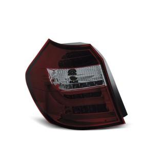 LED Achterlichten Bmw 1-Serie E87, E81 - Rood/Smoke