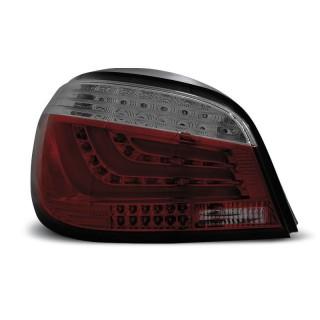 LED Achterlichten Bmw 5-Serie E60 sedan  - Rood/Smoke