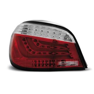 LED Achterlichten Bmw 5-Serie E60 sedan  - Rood/Wit