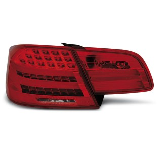 LED Achterlichten Bmw 3-Serie E92 coupe  - Rood/Wit