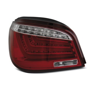 LED Achterlichten Bmw 5-Serie E60 sedan  Rood/Wit