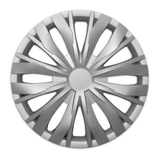 Wieldoppen Lion zilver 16 inch - 4 stuks