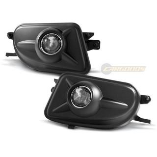 Mistlampen MERCEDES W210, CLK, SLK - Zwart