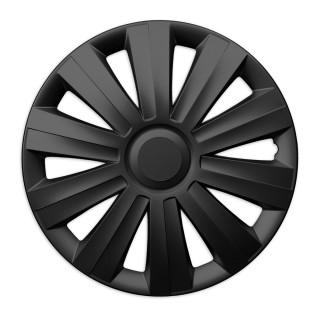 Wieldoppen Stix zwart 13 inch - 4 stuks
