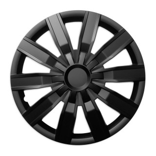 Wieldoppen Voodoo zwart 14 inch - 4 stuks