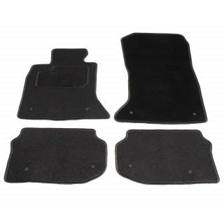 Automatten op maat - zwart stof - BMW 5-serie F10 / F11 2010-2013