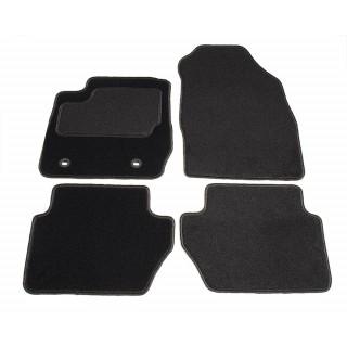 Automatten op maat - zwart stof - Ford Fiesta MK6 2008-2012