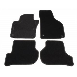 Automatten op maat - zwart stof - Volkswagen Golf 6 hatchback / station