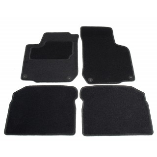 Automatten op maat - zwart stof - Volkswagen Golf 4 hatchback / station