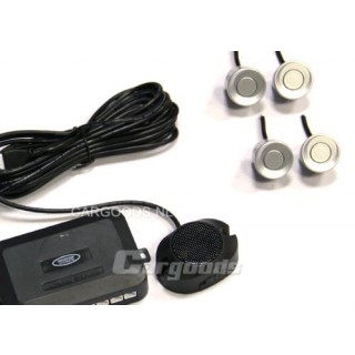 Parkeersensoren met geluid - Zilver