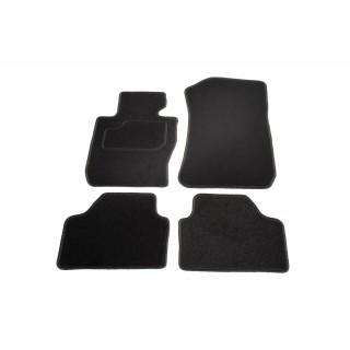 Automatten op maat - zwart stof - BMW X1 E84 2/2009 - 8/2015