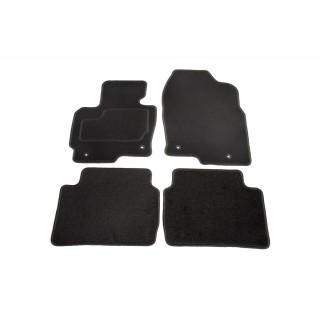 Automatten op maat - zwart stof - Mazda CX-5 vanaf 6/2012