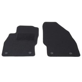 Automatten voorzijde - zwart stof - Opel Adam / Corsa D 2006-2014
