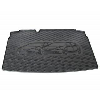 Rubber kofferbakmat met opdruk - VW Golf 5 hatchback vanaf 2003, VW Golf 6 hatchback vanaf 2008