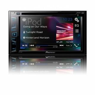 PIONEER AVH-290BT - Dubbel Din DVD-Speler met 6,2 inch touchscreen