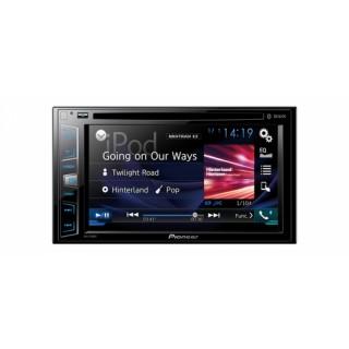 PIONEER AVH-X390BT - Dubbel Din DVD-Speler met 6,2 inch touchscreen