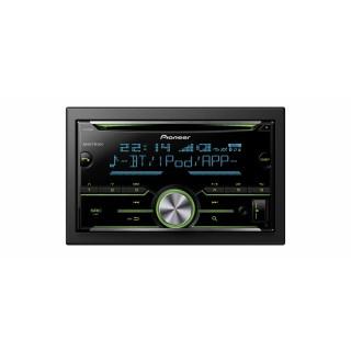 PIONEER FH-X730BT - Dubbel Din Radio/CD-Speler