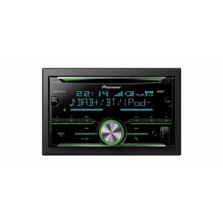 PIONEER FH-X840DAB - Dubbel Din Radio/CD-Speler, Bluetooth, DAB+, USB