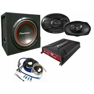 Pioneer GXT-4604B Combination Audio Package
