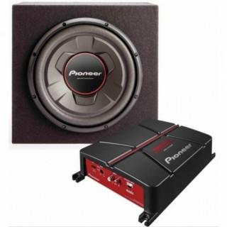 PIONEER GXT-3706B Compleet audiopakket