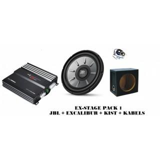 JBL subwooferpakket - JBL EX-STAGE PACK 1