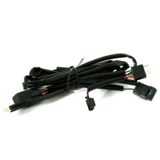 Kabelset voor koplampen Peugeot 206 van H4 naar H7/H7