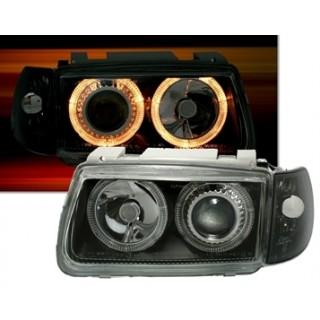 Angel Eyes Koplampen VW POLO 6N  - Zwart