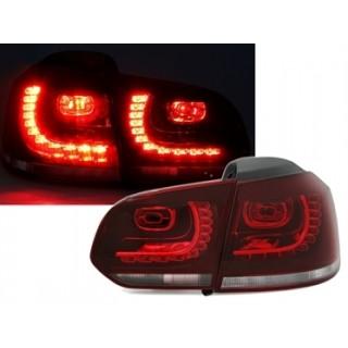 LED Achterlichten VW Golf 6  - Rood/Wit