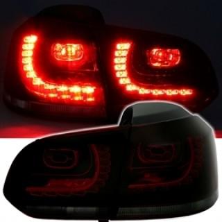 LED Achterlichten VW Golf 6  - Rood/Smoke