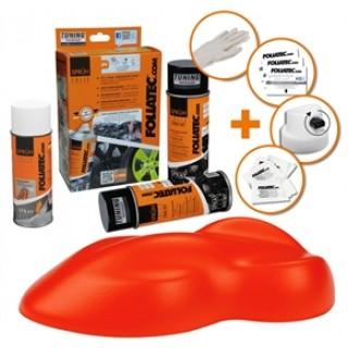 Foliatec Spuitfolie set - Oranje
